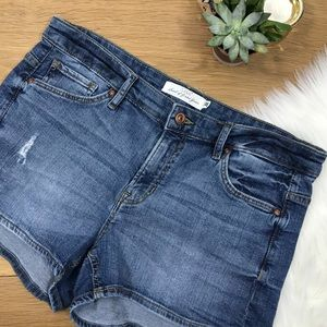 H&M High Rise Jean Shorts
